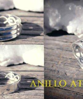 Anillo Atlante Plata 925g