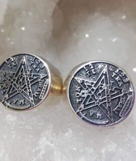 Anillo Tetragramaton Plata 925g