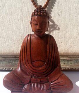 Buda De Madera Tallado