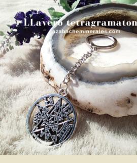 Llavero Con Símbolo Tetragramaton