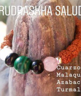 Pulsera Rudraskha Salud