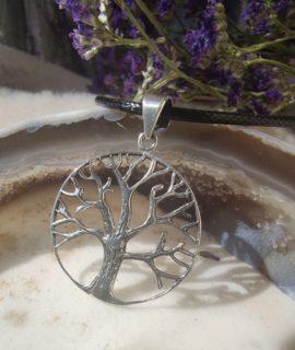 Colgante árbol De La Vida Y Plata