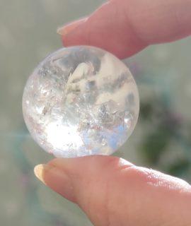 Esfera De Cuarzo  De 3 Cms