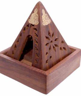 Quemador De Incienso Para Conos Pirámide Y Buda