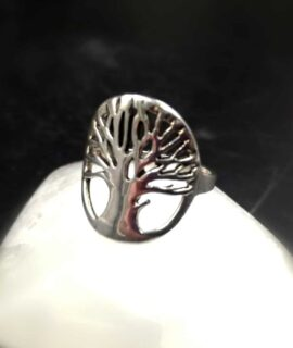 Anillo árbol De La Vida, Plata 925g